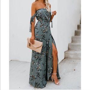 VICI Floral Maxi Dress